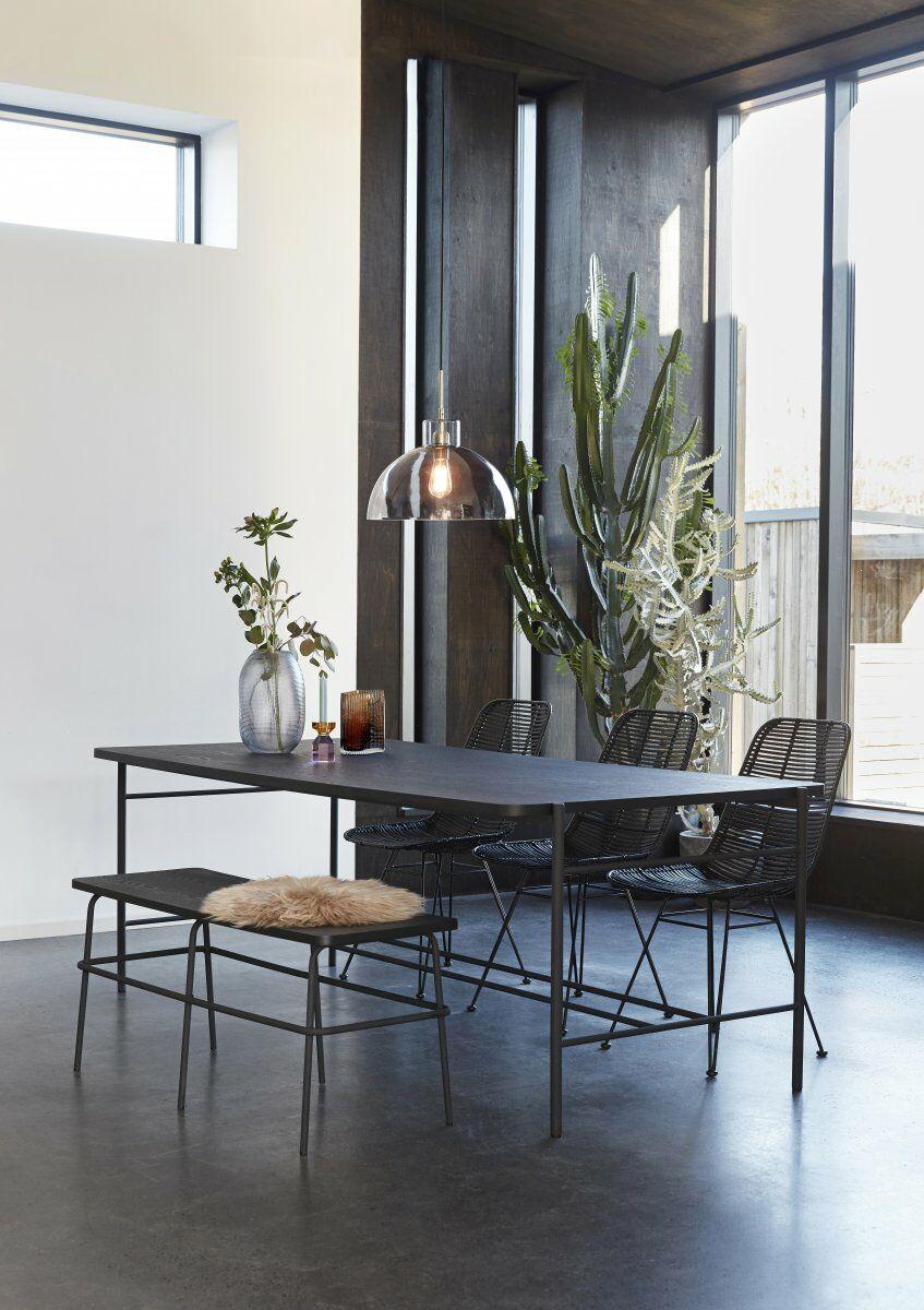 minimalista belső tér étkező