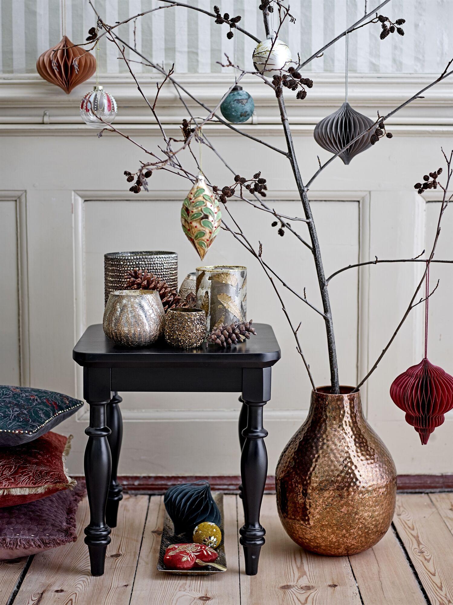 karácsonyi nosztalgikus dekor