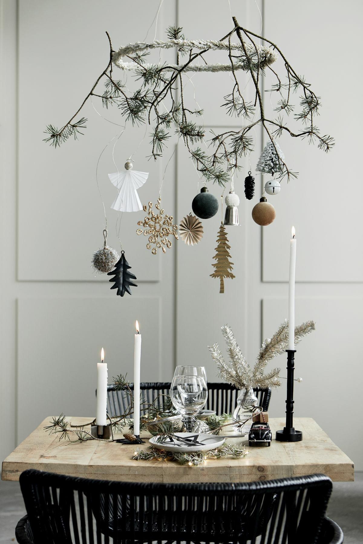 karácsonyi ünnepi asztal