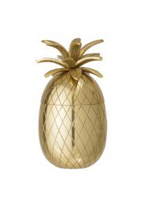 Arany ananász jégtartó