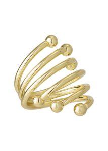 Arany csavarodó szalvétagyűrű 24 db