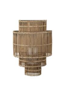 Bambusz fali lámpás 52 cm