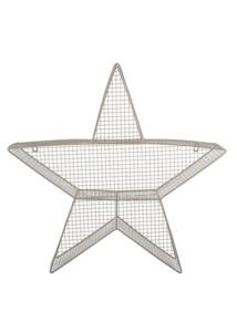 Csillag alakú fém polc