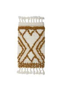 Egyedi mintás gyapjú szőnyeg 100x60 cm