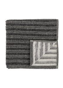 Fekete pamut törölköző 140x70 cm 2db