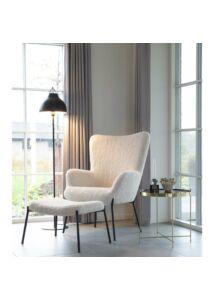 Modern kerek réz kisasztal ø48 cm