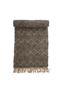 Modern mintás juta szőnyeg 200x70 cm