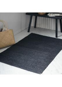 Fekete szőnyeg 90x60 cm