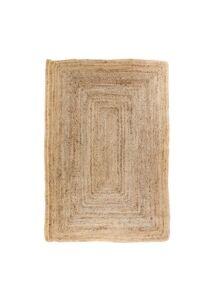 Natúr fonott juta szőnyeg 180x120 cm