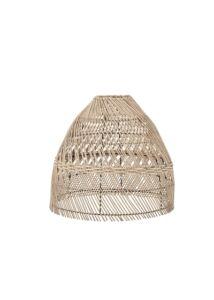 Natúr rattan lámpabúra Ø45 cm