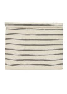 Natúr színű csíkos pamut szőnyeg 240x140cm