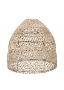 Óriás natúr rattan lámpabúra Ø75 cm