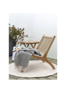 Összecsukható teakfa kisasztal