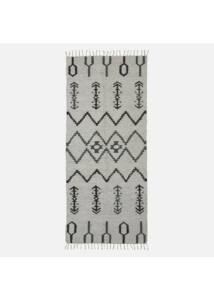 Skandináv mintás pamut szőnyeg 240x100 cm