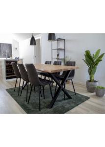 Skandináv zöld nagy szőnyeg 160x230 cm