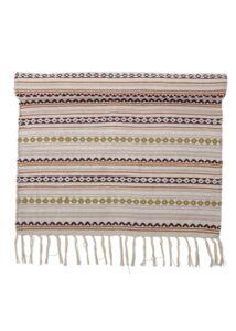 Színes csíkos pamut szőnyeg 140x70 cm