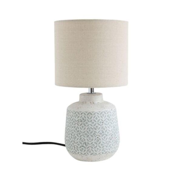 Apró mintás kerámia asztali lámpa 37 cm
