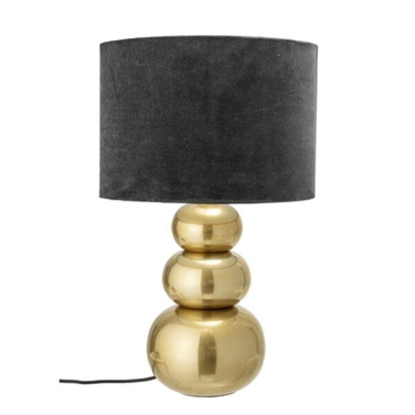 Arany és textil asztali lámpa 57 cm
