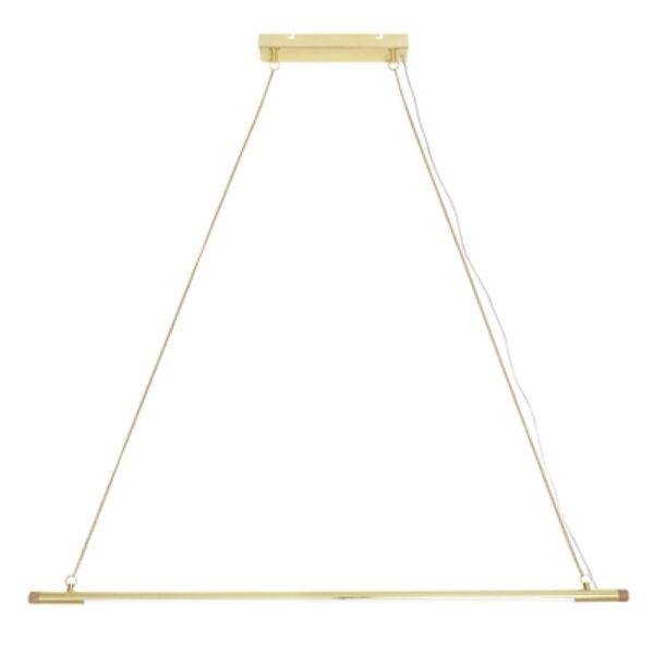Arany LED háromszög függőlámpa
