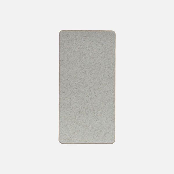 Bézs talpas kő tálca 6 db