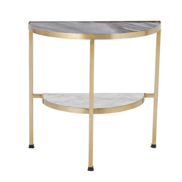 Elegáns márvány kisasztal