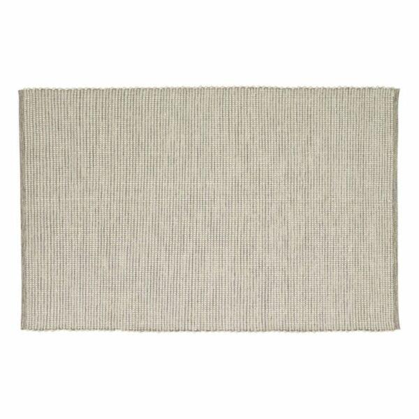 Fehér és szürke pamut szőnyeg 120x180 cm
