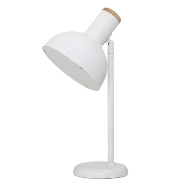 Fehér asztali lámpa 42 cm