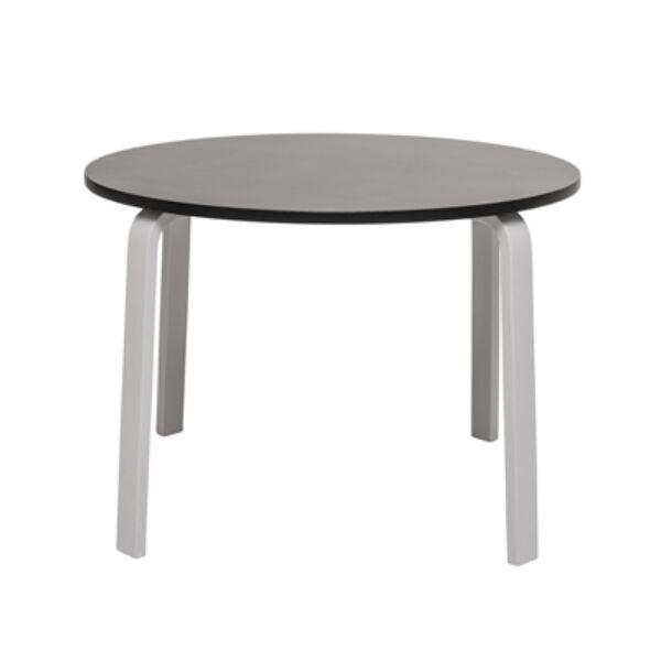 Fekete kerek kisasztal Ø65