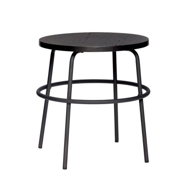 Fekete kisasztal