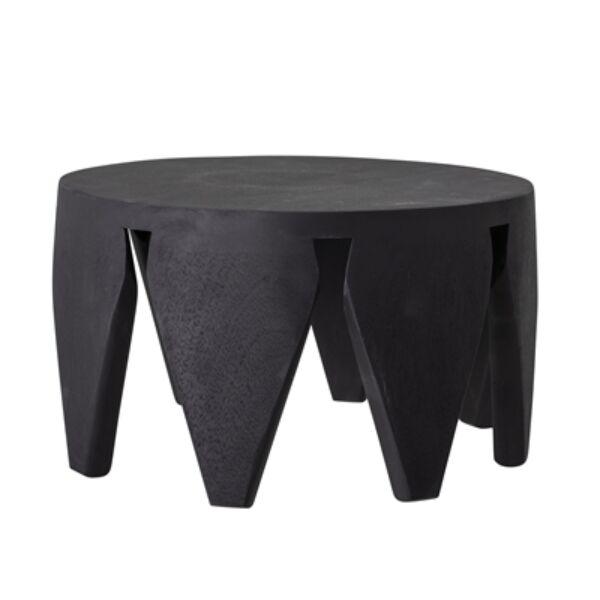 Fekete mangófa kisasztal