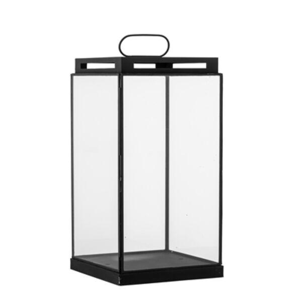 Fekete üveg lámpás