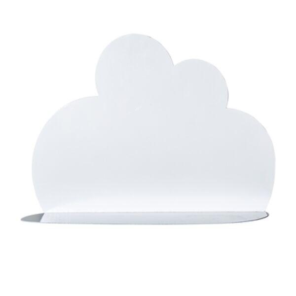Felhő alakú fém tároló polc 2 db