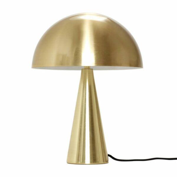 Gomba formájú sárgaréz asztali lámpa 25 cm