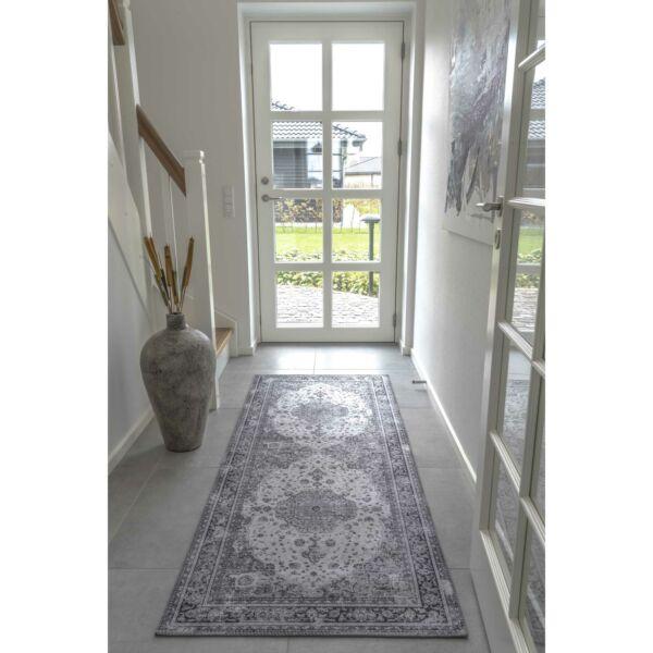 Klasszikus mintás előszoba szőnyeg 80x200 cm
