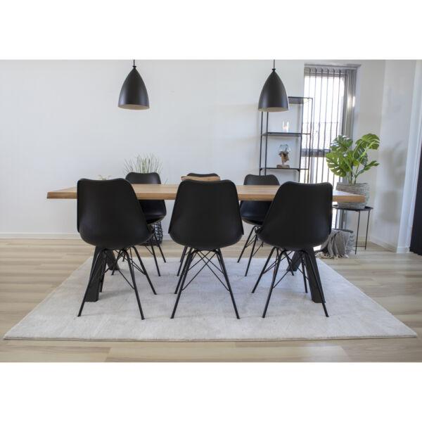 Minimalista fehér nagy szőnyeg 160x230 cm