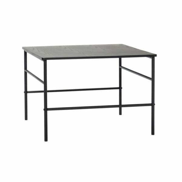 Minimalista fekete kisasztal