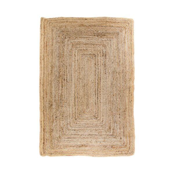 Natúr fonott juta szőnyeg 135x65 cm