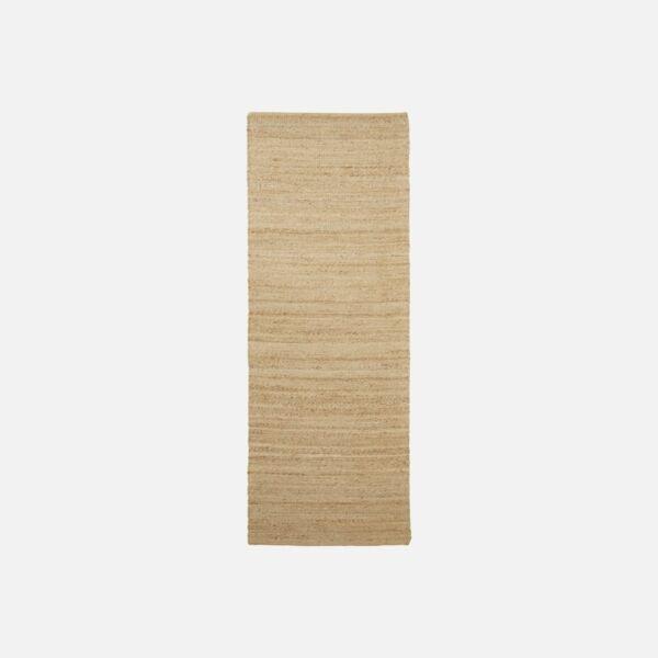 Natúr hosszú juta szőnyeg 90x300 cm