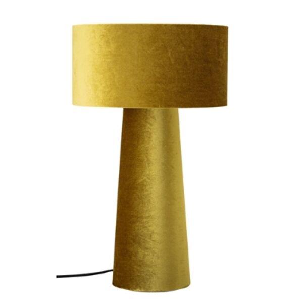 Sárga asztali lámpa