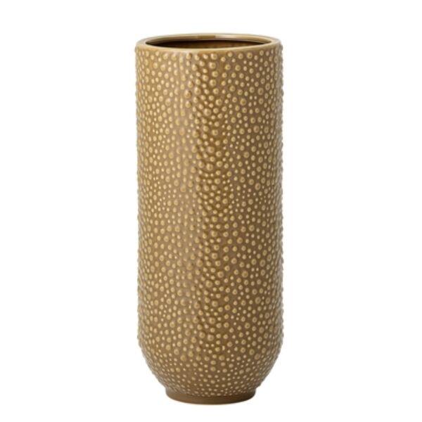 Sárga kerámia váza