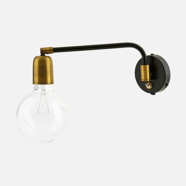Sárgaréz fali lámpa