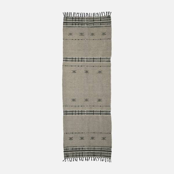 Skandináv natúr hosszú gyapjú szőnyeg 300x90 cm