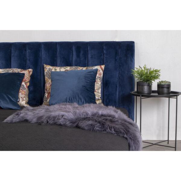 Szürke báránybőr üléstakaró 80x50 cm