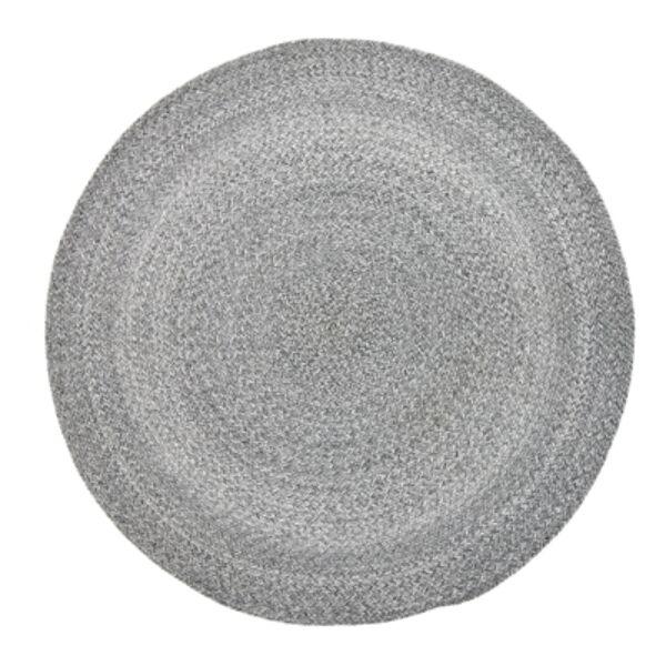 Szürke kör alakúszőnyeg Ø120cm