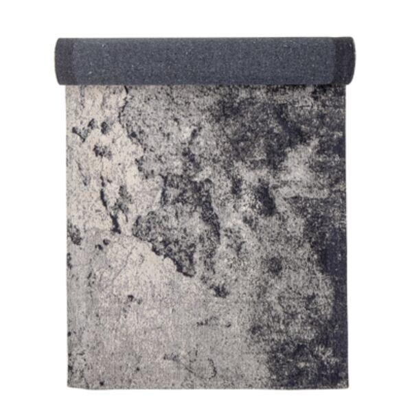 Szürke színű szőnyeg egyedi mintával