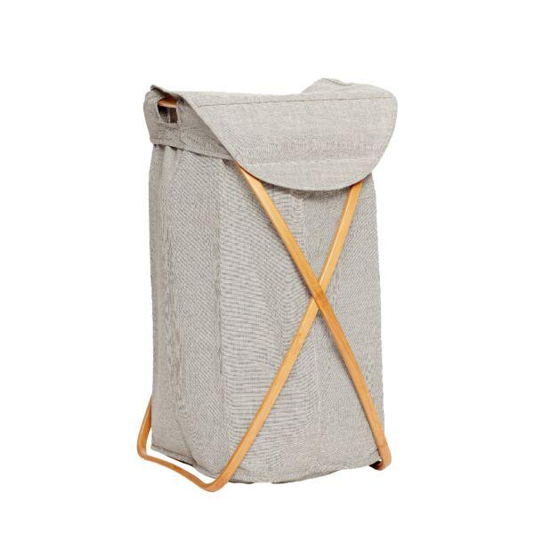 Szürke textil szennyestartó