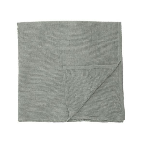 Szürkészöld pamut asztalterítő 320x140 cm