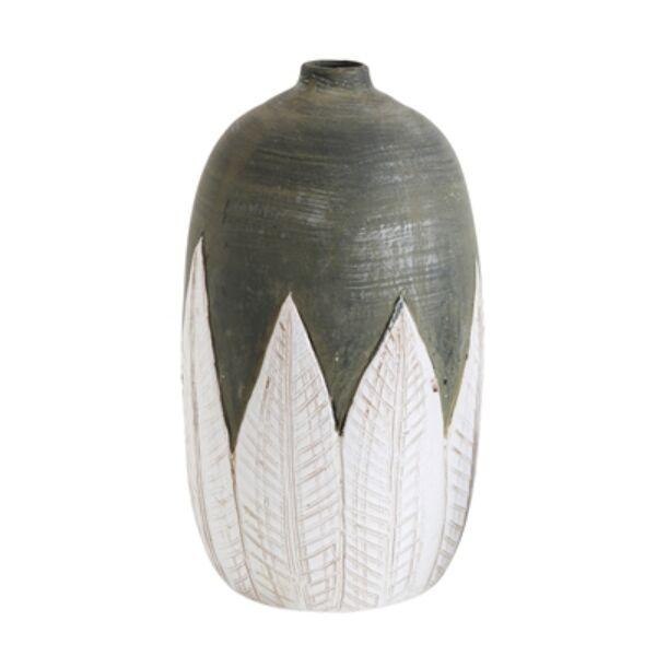 Terrakotta váza Ø15xH31 cm