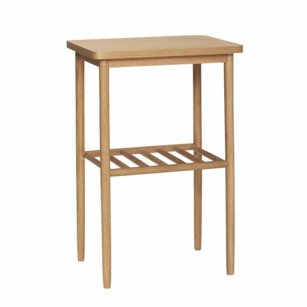 Tölgyfa konzolasztal