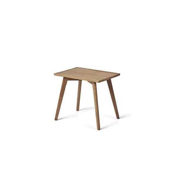 Tölgyfa szögletes kisasztal
